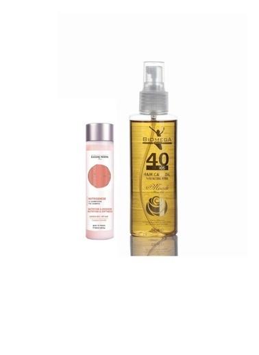 Eugene Perma Eugene Perma Essentiel Nutrigenese Şampuan 250 Ml+Biomega 40 Bitkili Doğal Saç Bakım Yağı 150 Ml Renksiz